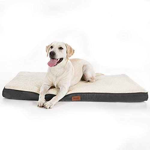 Large y Extra Grande Polar Perro cama-colchón Cama del Animal Doméstico Lavable Con Cremallera