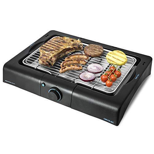 Barbacoa parrilla eléctrica 2000w mesa barbacoa grill barbacoa parrilla barbacoa carro óxido