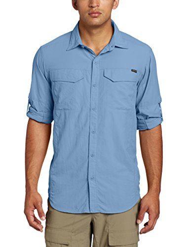 888e6ee4997 -42% Columbia Silver Ridge Long Sleeve Shirt AM7453 Camisa
