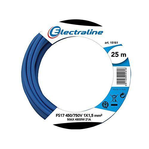 Cable el/éctrico unipolar N07/V-K aislado con PVC cable de 1/x 2,5/mm/² color marr/ón//negro//azul//amarillo//verde flexible 4 bobinas de 50/metros