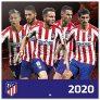 Calendario de Pared 2020 Atlético de Madrid
