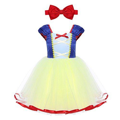 242de9fb7 -52% iEFiEL Vestido de Princesa para Bebé Niña (1-5 Años) Disfraz de  Infantil