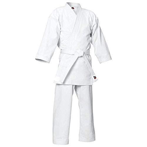 para ni/ños y Adultos Kimono Trajes Blancos de Judo V.Sports Uniforme de Judo en Blanco lej/ía