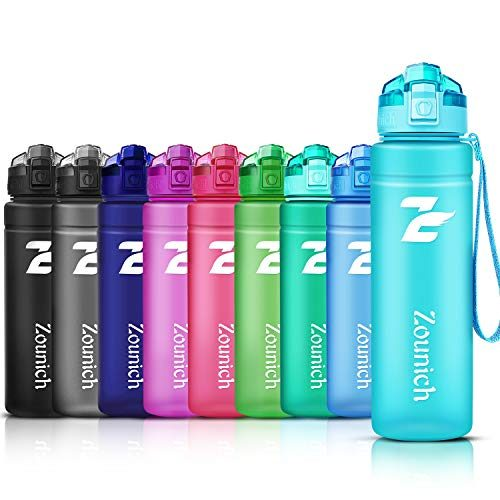 Sunshine smile Plegable Flexible Botella de Agua Reutilizable para Senderismo,Deportes al Aire Libre Plegable Botella de Agua de Pl/ástico,Bolsa Plegable para Botella de Agua